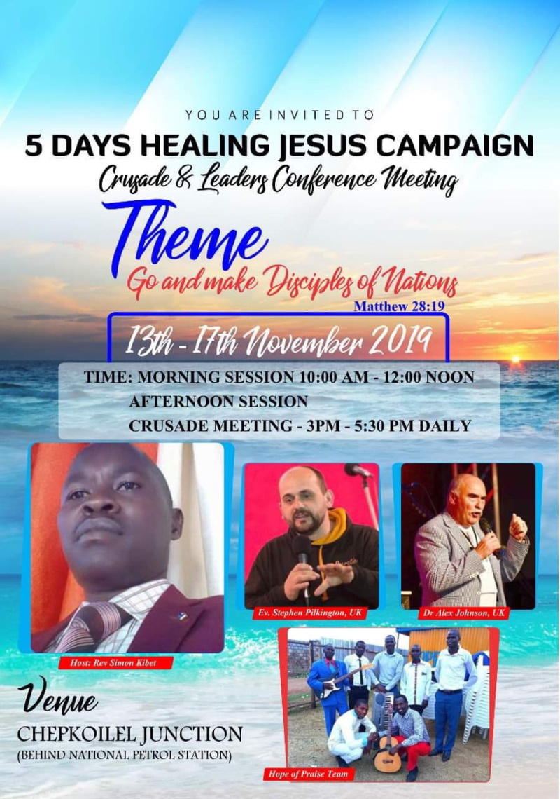 5 Days Healing Crusade